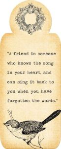 Jenn's Quote Friendship Song